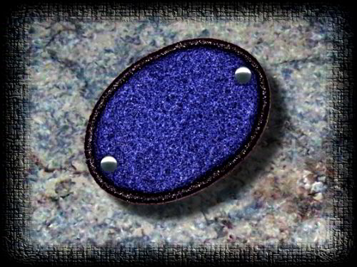 Eye Patch blue felt