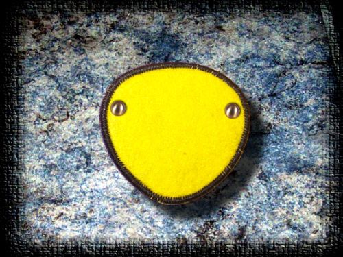 Eye Patch Lemon Yellow