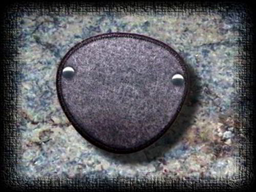 Eye Patch Smoke Felt