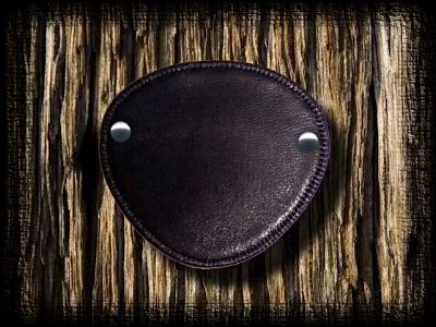 Plain Leather eye patch designer eye patches